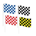 Checkered Antenna Flags & Pennants
