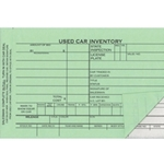 Used Vehicle Forms