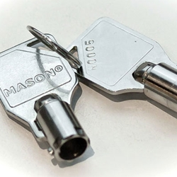 Keys for Mason Lock Box