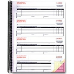 Purchase Order Book-Imprinted