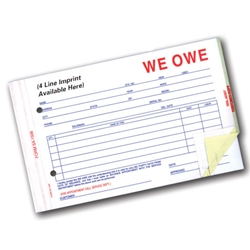 We Owe-Imprinted