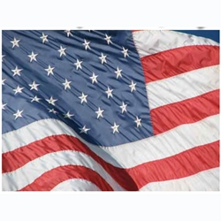 2 Ply Polyester U.S. Flags (Longest Lasting Outdoor Flag) (