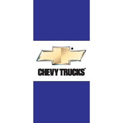 Chevy Trucks Pole Flags (Horizontal, double sided)