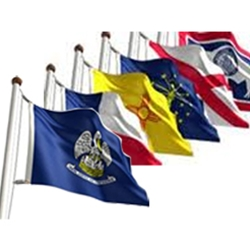 2' x 3' State Flags