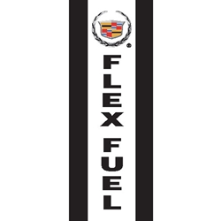 Cadillac Flex Fuel Flags (Vertical)