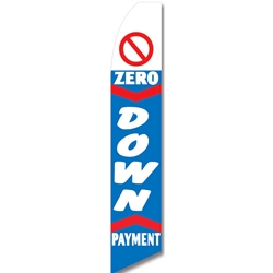 0 down payment swooper flag.