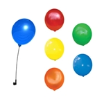 20 pack assortment of reusable balloons.
