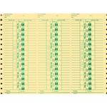 Time Clock Cards 5<br>Form#AA-292-VI