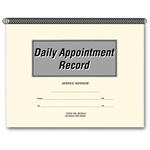 Daily Appointment Record Book