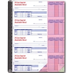 Cash Receipt Books w/Account Log-Imprinted