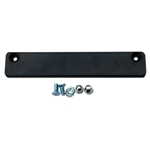 Magnetic demo license plate holder