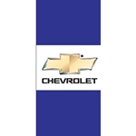 Cheverolet Light Pole Flags (Horizontal, double sided)