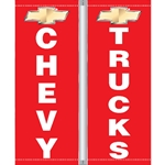 Chevy Truck Pole Flags