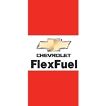 Chevy Flex Fuel Flags (Horizontal)
