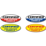 Certified Pre-Owned Oval Slogans