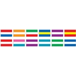 3 Stripe Nylon Horizontal Attention Flags