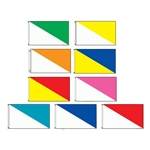 Horizontal Diagonal Flags