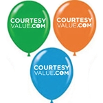 "CourtesyValue.com 17"" Balloons"