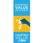 CourtesyValue.com<br>Pole Banners
