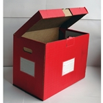 Color-Code File Folder Storage Boxes