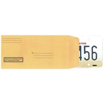 License Plate Envelopes (Preprinted)