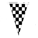 Heavy-Duty Race Style Pennant<br>Triangle