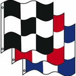 3' x 3' Checkered Flags