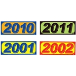 "14"" x 5-1/4"" Model Year Windshield Decals"